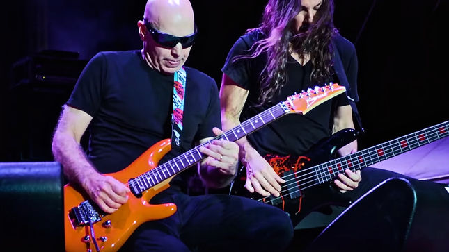 Joe Satriani Looks Back On Surfing With The Alien Track By