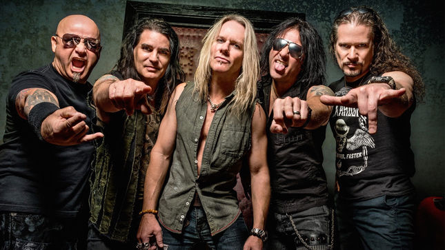 WARRANT - Video Of Live Jam With JANI LANE's Brother ERIC OSWALD