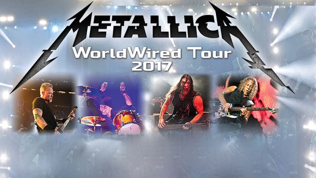 METALLICA Announce North American Dates For Worldwired ...