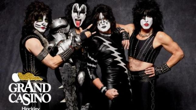 KISS - Live Date Confirmed For Hinckley, Minnesota