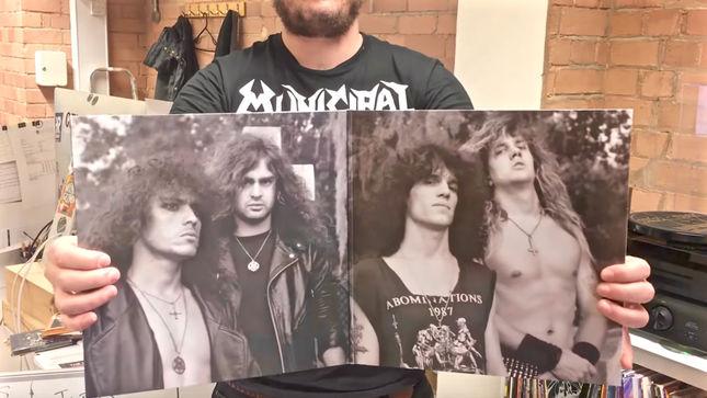 MORBID ANGEL - Full Dynamic Range Vinyl Repress Of Altars Of Madness Album Available; Video Trailer Streaming