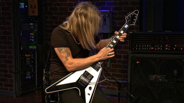"JUDAS PRIEST Guitarist RICHIE FAULKNER Performs ""Organas Rage"" Live On EMGtv; Video"