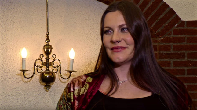 NIGHTWISH Singer FLOOR JANSEN Gives Birth To Baby Girl!