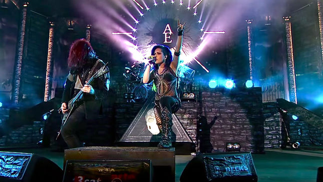 "ARCH ENEMY Release Video And Single For ""Nemesis"" (Live At Wacken 2016); As The Stages Burn! Pre-Sale Launched"