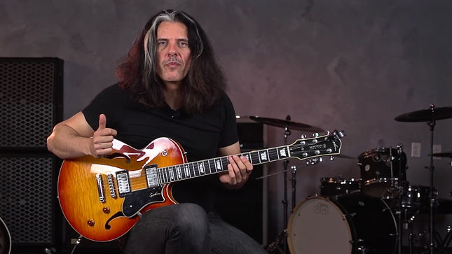 TESTAMENT Guitarist ALEX SKOLNICK Offers Fourth Interval Chord Building Lesson In New Eclecticity Episode; Video