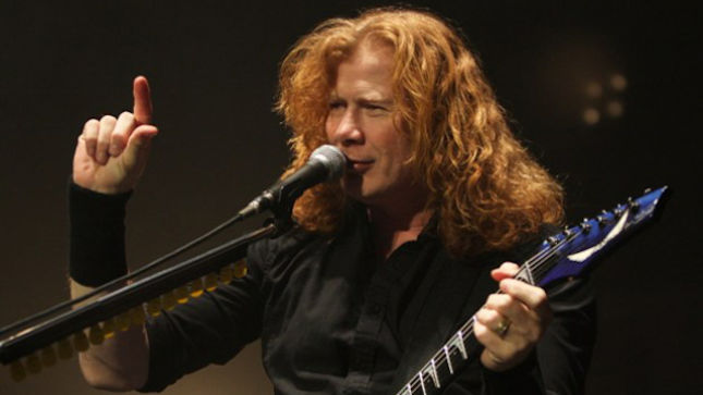 "MEGADETH Frontman DAVE MUSTAINE Sends Ultimate Guitar Correct Tabs For ""Holy Wars...The Punishment Due"" - ""It Only Took 11 Versions..."""