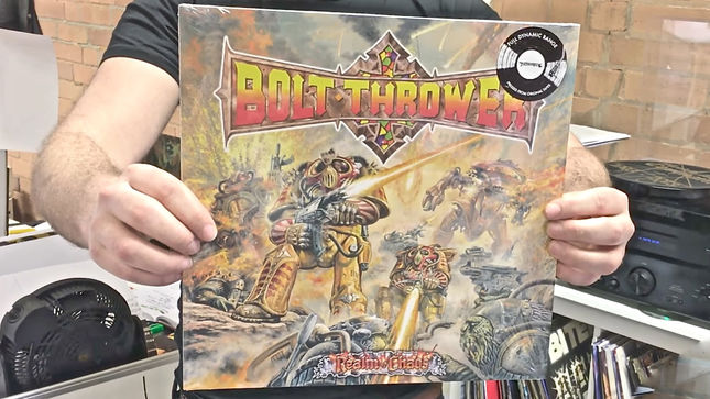 Bolt Thrower Full Dynamic Range Vinyl Edition Of Realm