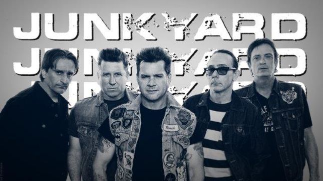 "JUNKYARD Stream New Song ""Cut From The Same Cloth"", Launch Pre-Order For New Album High Water"
