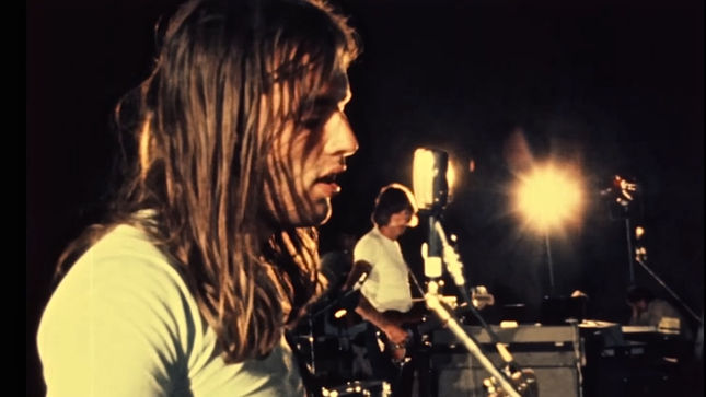 "PINK FLOYD Perform ""Atom Heart Mother"" In St. Tropez; Rare 1970 Video Footage Streaming"