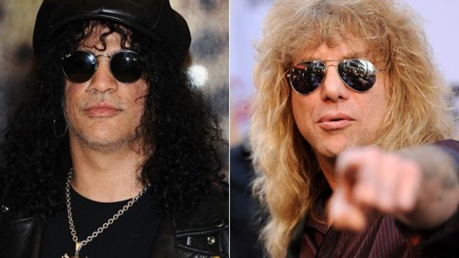 slash and steven adler reunite at john 5 show in los angeles photo available news. Black Bedroom Furniture Sets. Home Design Ideas
