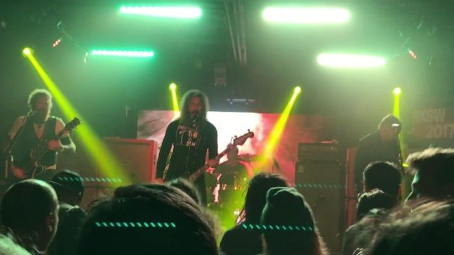 MASTODON Debuts Three New Songs AT SXSW 2017 In Austin; Fan-Filmed Video Posted