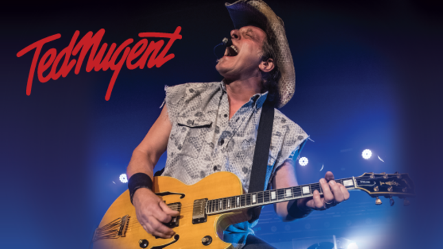 TED NUGENT Adds California, Texas Dates To Summer Tour Schedule