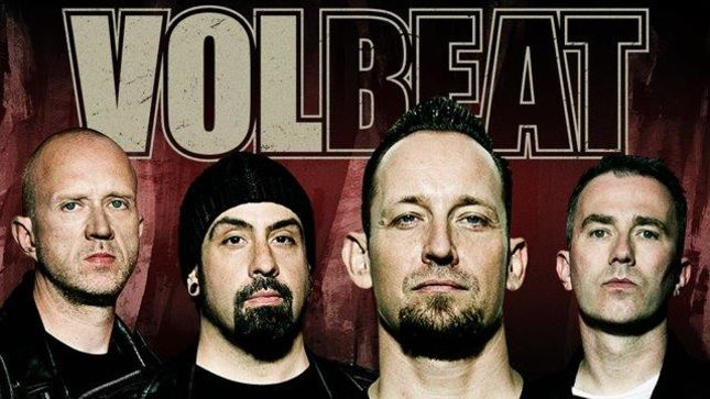 VOLBEAT Tease New Riff In Rehearsal Room Video