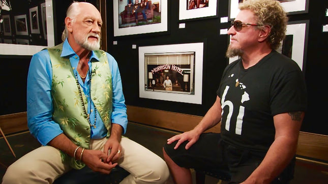 SAMMY HAGAR's Rock & Roll Road Trip - Deleted Scene Featuring MICK FLEETWOOD Now Streaming