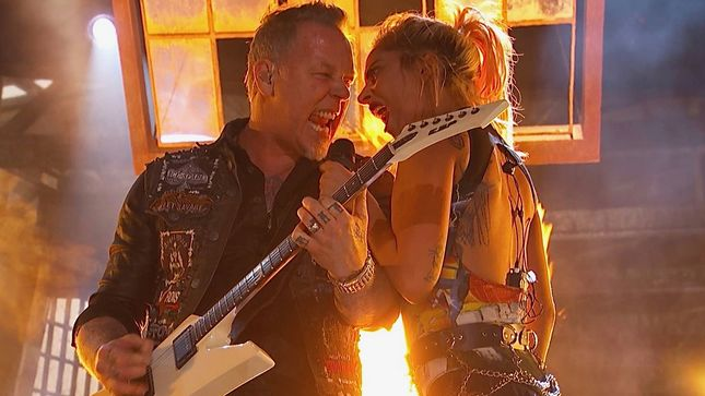 "METALLICA's James Hetfield On Future Collaborations With LADY GAGA - ""I Have No Interest"""