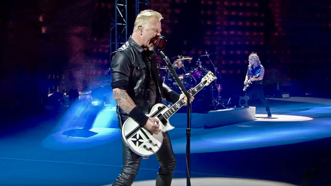 "METALLICA Perform ""Ride The Lightning"" In Mexico City; Pro-Shot Video Streaming"