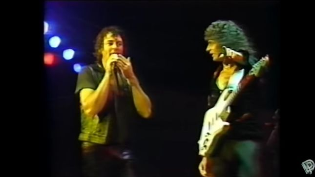 "DEEP PURPLE – Vintage Concert Footage Performing ""Difficult To Cure"" In 1985 Streaming"