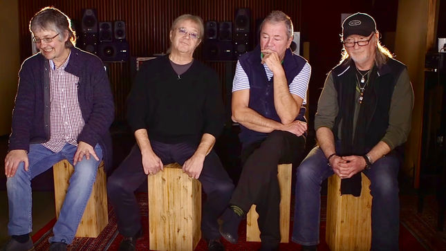 "DEEP PURPLE Discuss Simplicity In Music - ""The Hardest Thing To Do Is To Create A Piece Of Music Like ""Smoke On The Water""; Video"