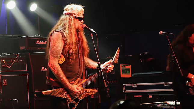 Former W.A.S.P. Guitarist Chris Holmes' MEAN MAN To Kick Off European Tour This Weekend; Live Teaser Video Streaming