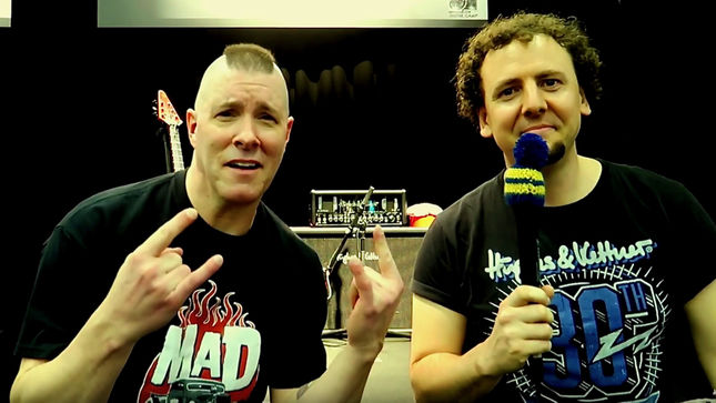 "ANNIHILATOR Frontman JEFF WATERS Discusses 70000 Tons Of Metal Cruise - ""It's The Perfect Thing For Me As A Fan And A Musician""; Video"