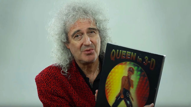 BRIAN MAY Unwraps QUEEN In 3D Book; Full-Length Version Streaming