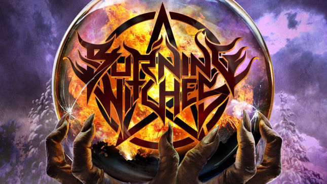 BURNING WITCHES Sign With Nuclear Blast