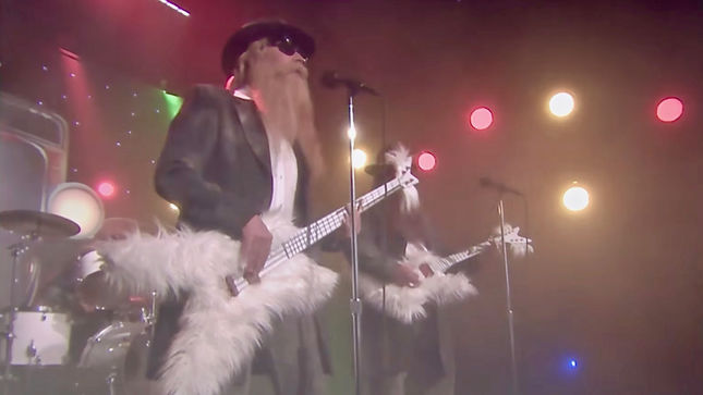 "ZZ TOP Classic ""Legs"" Gets The ""First Drafts Of Rock"" Treatment On The Tonight Show Starring Jimmy Fallon; Video"