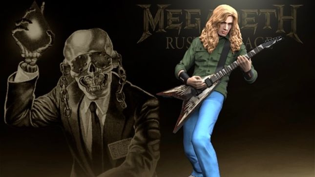 MEGADETH - KnuckleBonz Collectibles Now In Production For Fall Release