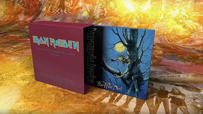 IRON MAIDEN Launch Video Trailer For Next Series Of Vinyl Album Reissues