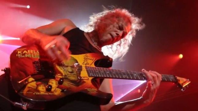 METALLICA - KIRK HAMMETT On Grammy Performance With LADY GAGA -