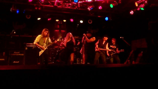 "JEFF YOUNG & FRIENDS Perform Unrehearsed Cover Of MEGADETH's ""In My Darkest Hour"" Live In Las Vegas; Video Posted"