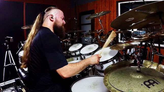 """HATE Release Official Drum Playthrough Video For """"Indestructible Pillar"""""""