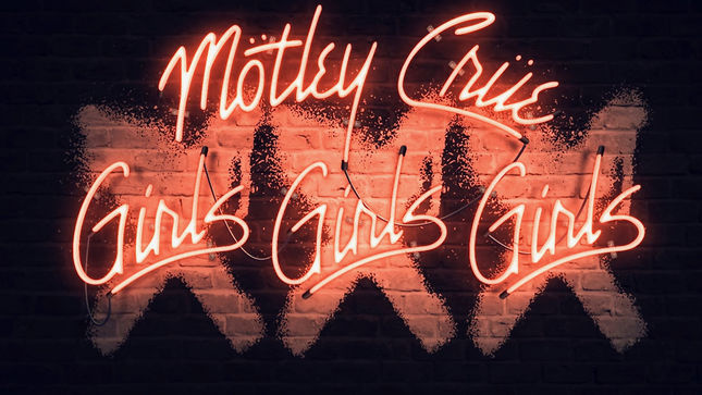 MÖTLEY CRÜE - New Video Trailer Released For Girls, Girls, Girls 30th Anniversary Album Reisssue
