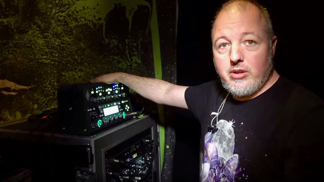 DESPISED ICON Guitarist ERIC JARRIN Featured In New Gear Masters Episode; Video