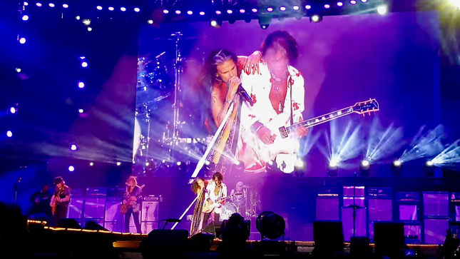 AEROSMITH - 50,000 Fans Attend First Show In Israel In 23 Years; Video Streaming