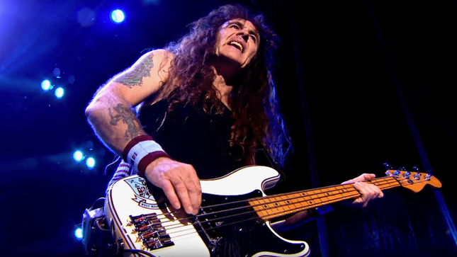 "IRON MAIDEN Bassist STEVE HARRIS On Upcoming North American Tour - ""We Will Be Bringing The Full Production With Us Including All The Eddies And The Mayan-Themed Stage Sets"""