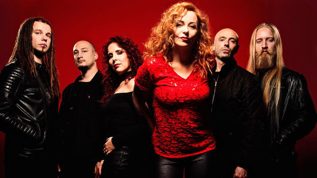 "VUUR Featuring ANNEKE VAN GIERSBERGEN Post Rehearsal Footage Of THE GATHERING's ""On Most Surfaces"""