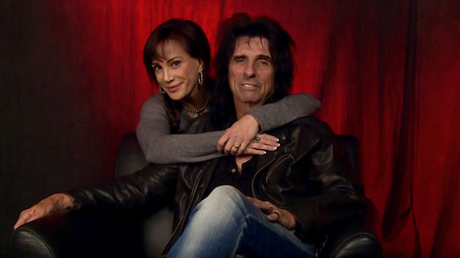"ALICE COOPER's Wife SHERYL - ""He Still Pursues Me Like I'm Not Already His""; New Ask Alice Episode Streaming (Video)"