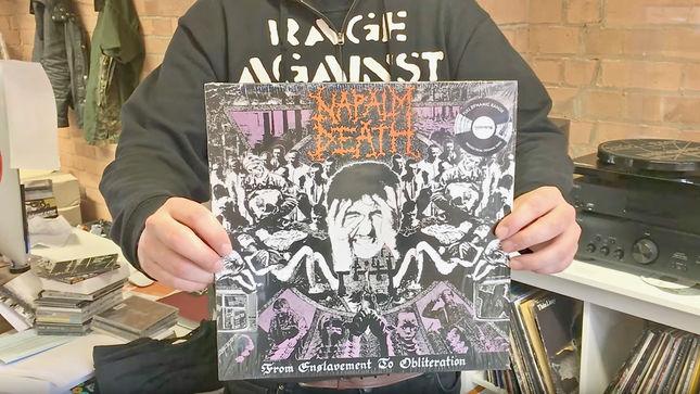 Napalm Death Full Dynamic Range Vinyl Repress Of From