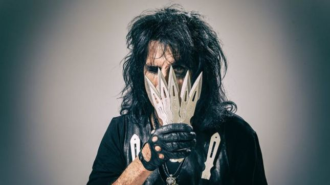 "ALICE COOPER Discovers ANDY WARHOL Classic ""Rolled Up In A Tube"""