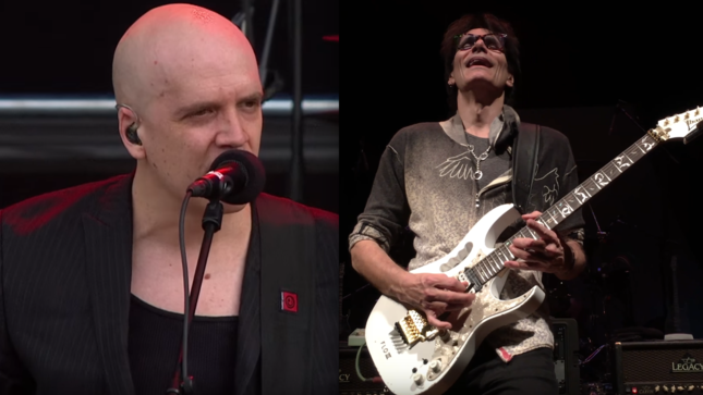 STEVE VAI And DEVIN TOWNSEND To Reunite On Stage For First Time In 25 Years
