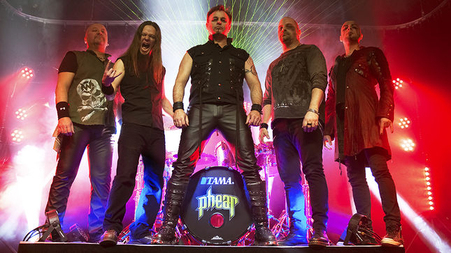 PHEAR Return With New EP Including Epic IRON MAIDEN Cover; Video Teaser Streaming