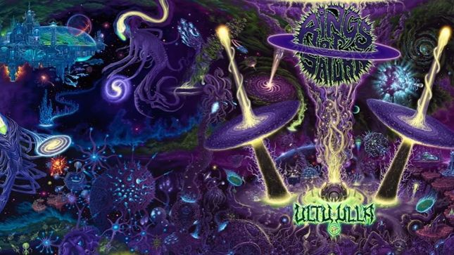 "RINGS OF SATURN Discuss Ultu Ulla Artwork - ""A Big Part Of The Band Is The Visual Aspect"" (Video)"