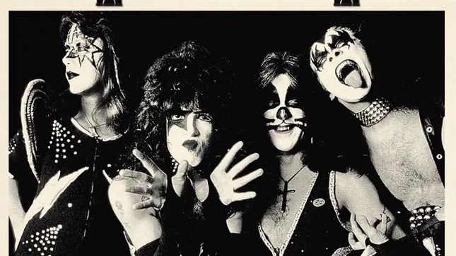 KISS - Serigraph Prints Of Classic Line-Up Now Available