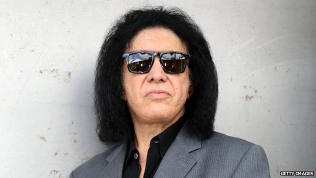 "GENE SIMMONS On Donald Trump's Immigration Policy - ""The Pope Said Walls Are Inhumane, Except The Vatican Has A Nice, Big Wall Around It For The Same Reason; They Want To Keep People Out"""