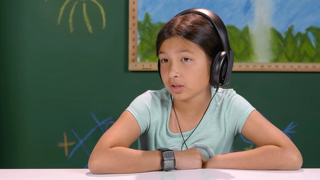 "Kids React To IRON MAIDEN - ""…And Now I'm Going To Have Nightmares,"" Says 11-Year Old EMMA R."