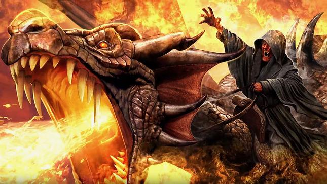 """BLOODBOUND Release """"War Of Dragons"""" Lyric Video"""