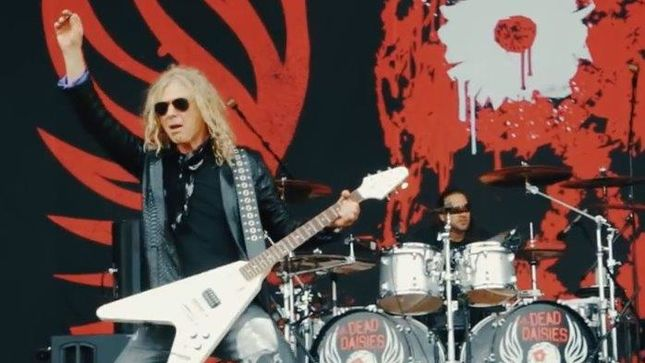THE DEAD DAISIES - Live & Louder World Tour, Week 2 In Europe; Video Recap