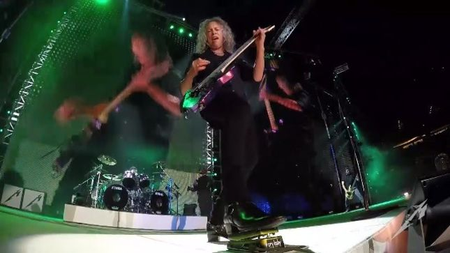 METALLICA - Pro-Shot Video Of
