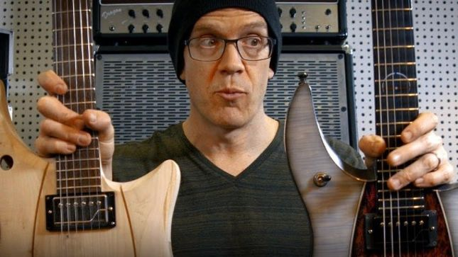 DEVIN TOWNSEND Talks Updated Framus Stormbender Signature Guitar Prototype (Video)